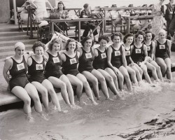 1948 women's swimming team
