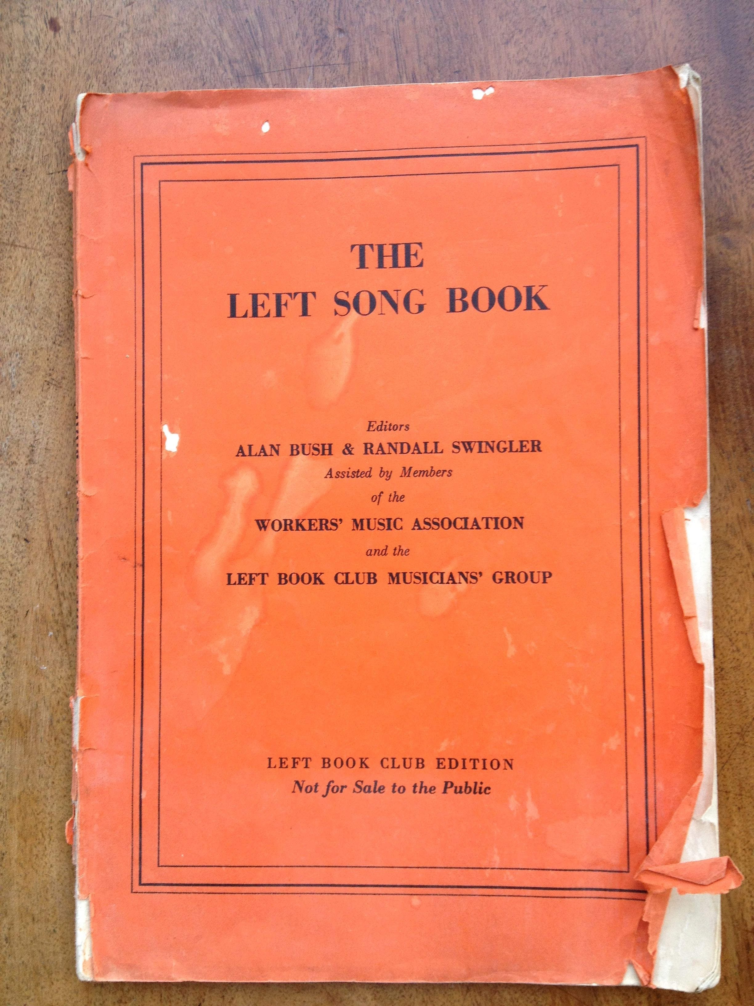 LBC song book cover