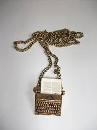 tiffany typewriter chain