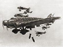 NationalistplanesbombMadrid1936