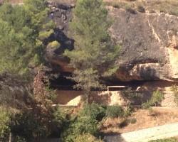 Cave hospital, La Bisbal