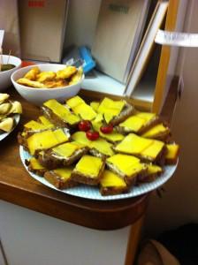 Polish food at TBS launch