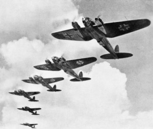 Heinkel 111s in the Battle of Britain