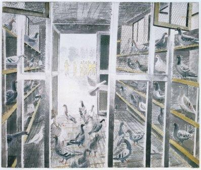 From 'Ravilious in Pictures: The War Paintings' by James Russell.