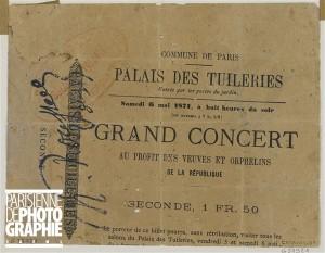 Grand Concert ticket