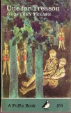 Cue for Treaston Geoffrey Trease 1965 Puffin edition