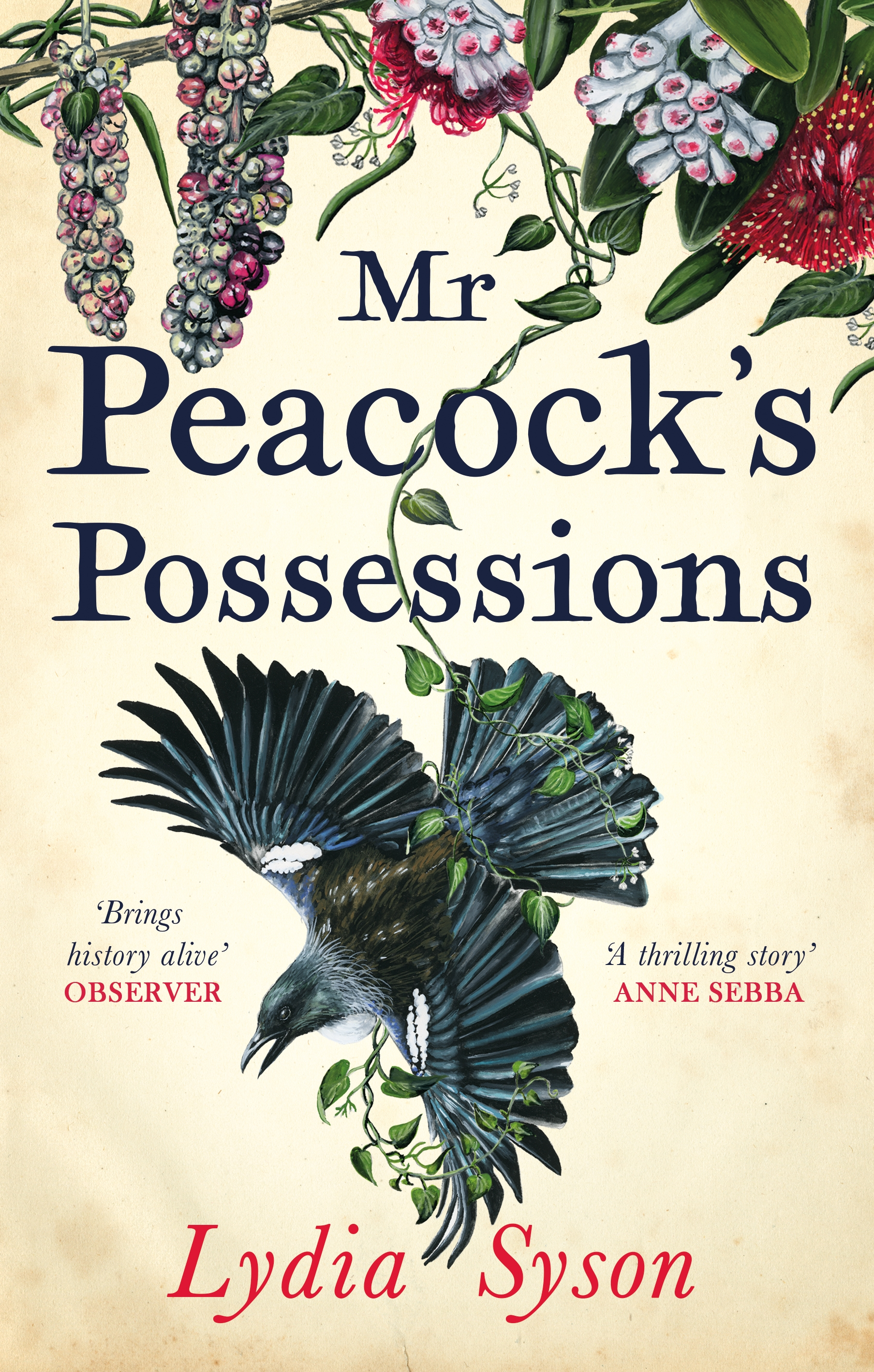 Mr Peacock cover